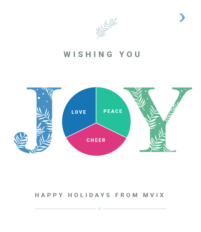 Wishing you a Happy Holidays from Mvix